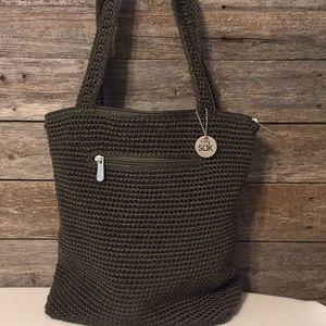 The ask crochet purse like new
